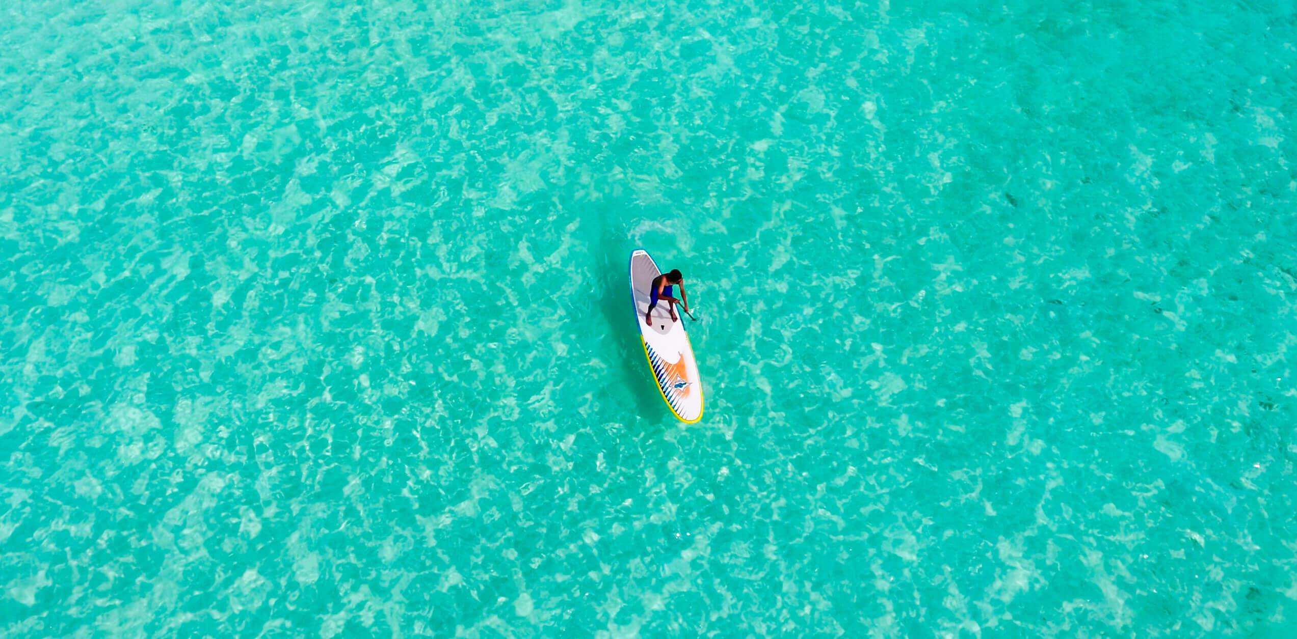Üben Sie Paddle-Surfen auf Mallorca